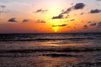 Zonsondergang in Kribi