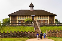 Het door de Duitsers gebouwde gastenhuis dat nu museum is