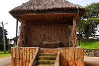 In deze hut staat de moedertrom.
