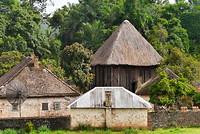 Het achterste huis is de Achum.