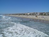 eerste strand foto