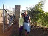 Met Yowinhareg, nieuwe collega!
