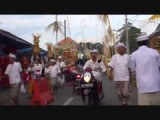 On our way to Balinese ceremony