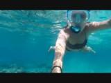 Snorkling at Gili T