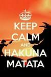 Hakuna Matata - Pluk de dag