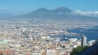 Napels en de Vesuvius