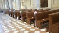 trouwens in de kathedraal