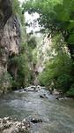 Snelstromende rivier