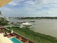 Uitzicht vanuit hotelkamer