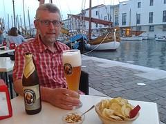 Cesenatico haven 's avonds: gezellig uitgaan