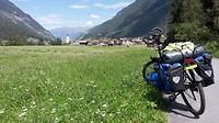 14:50 bergaf richting Ried Im Oberinntal