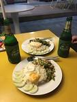 Onze eerste Thaise maaltijd