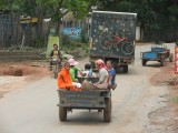 38) Straatbeeld in Noord Laos