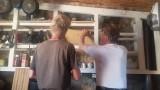 2a) Schappen in de keukenkast