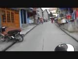 Op de scooter door Sapa