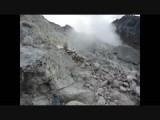 Lawaai van de vulkaan