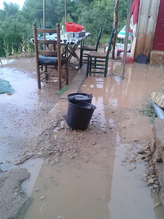 1) Niet vaak regen maar als het regent, regent het echt