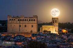 11) Valderrobres bij volle maan
