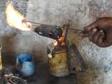 7) Nepalees gasbrandertje