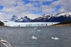 Eerste zicht op de Perito Moreno