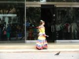 traditionele kleding voor typische dans van Bogota
