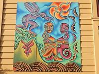 Maori art in Rotorua
