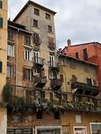 Typical Italian houses, Verona