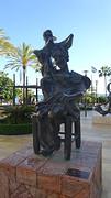 Don Quijote Sentado van Salvador Dali