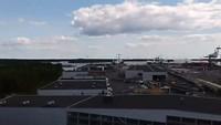 Natuur voor, haven, voor vertrek naar Tallinn, achter👍🏽