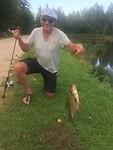 Dat is pas een vis!! Mars heeft alle plaatselijke vissers verslagen 💪🏾👍🏽