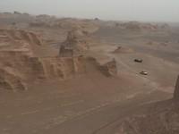 Kaluts in de woestijn bij Kerman