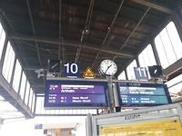 Yes! We hebben de trein gehaald!