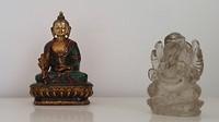 1. symbool voor buddhisme en hinduïsme