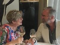 Ter gelegenheid van het 40-jarig huwelijksjubileum eten bij de Moerbei in Warmond