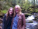 Waterval met Eline