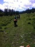 Paardrijtocht van drie uur door wouden, bergen van Terelj park