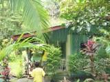 Huisje bij de waterval