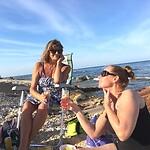 GT tijd strand lasvrotes bij camoing