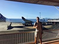 Voor het vliegtuig van Fiji Airways