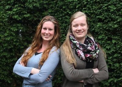 Marianne van Zwienen en Nienke Hak