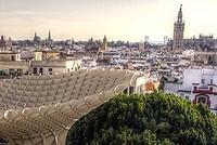Midden in Sevilla