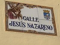 Straatje jezus van nazareth