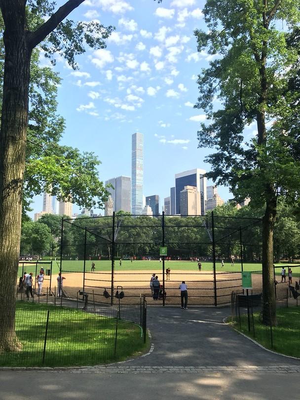 Honkbal @ Central Park