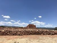 Ruïnes van Spaanse kerk, Pecos