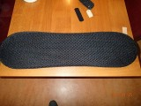 Ventisit sitting mat for the recumbent bicycle