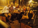 Goodbye diner in Mazatlan with our cycle group!