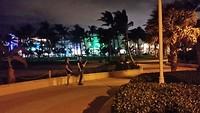 Strandwandling by night