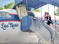 """Elvis' vliegtuig """"Lisa Marie"""""""