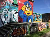 Graffiti in Compiègne.