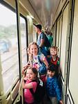 In de trein van Esfahan naar Yazd